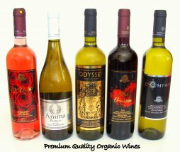 ORGANIC WINES FROM LEMNOS & KEFALONIA