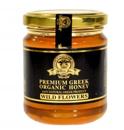 ORGANIC HONEY FROM CRETE & PELOPONNESE